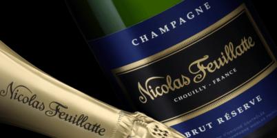 Preparando la Navidad : Champagne Nicolás Feuillatte Brut