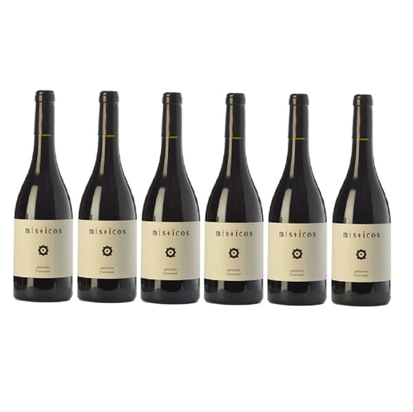 vino misticos pack 6 botellas