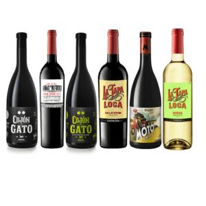 lote vinos divertidos