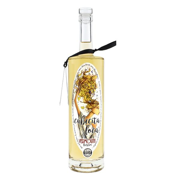 vermouth cabecita loca reserva blanco