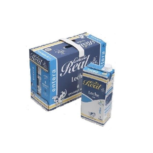 cañƒada real leche entera caja 6 bricks