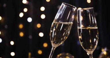Burbujas: magia y champagne