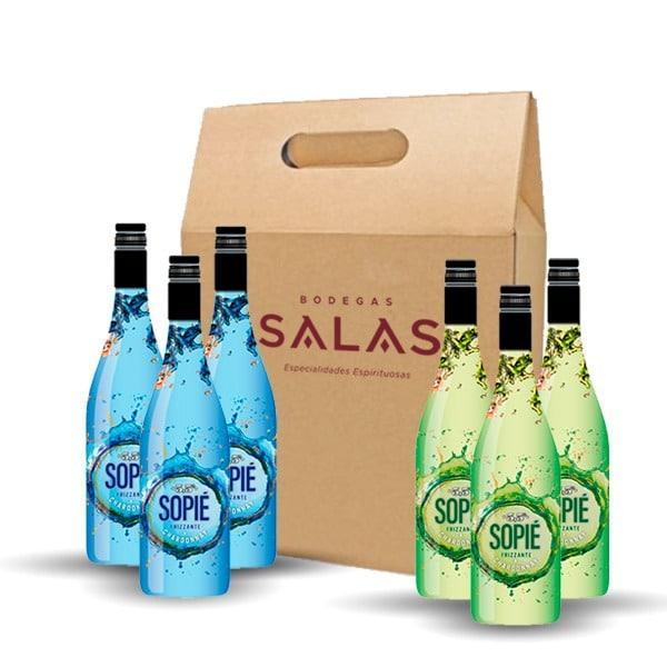 Pack Vino Frizzante Sopié