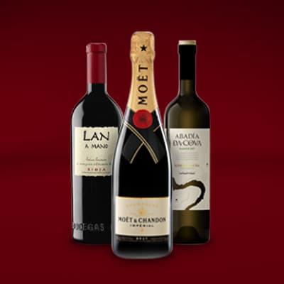 Tres Mosqueteros pack de vino