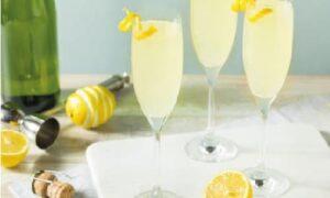 te de ginebra con limoncello
