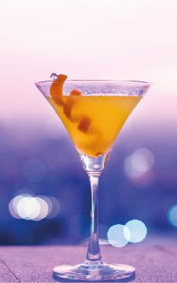 ginebra con naranja