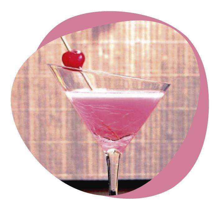 top 4 cocteles con ginebra pink
