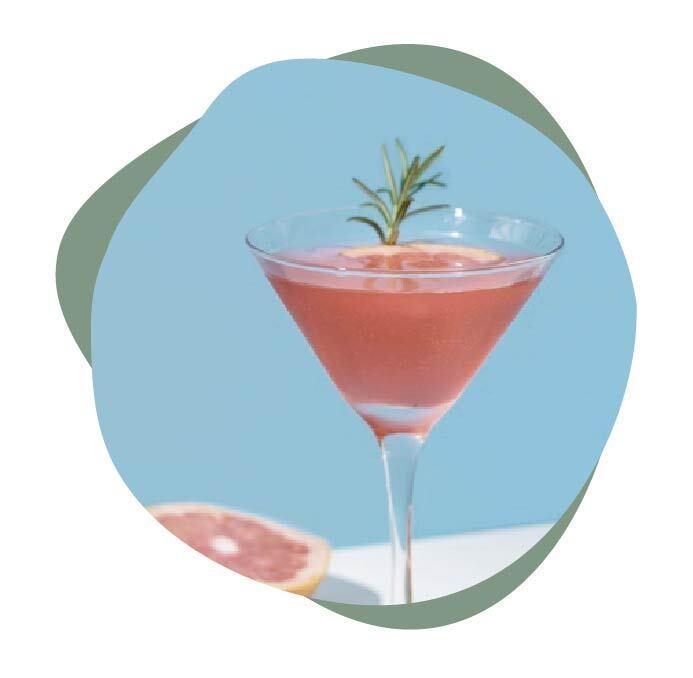 top 4 cocteles con ginebra rosa lady