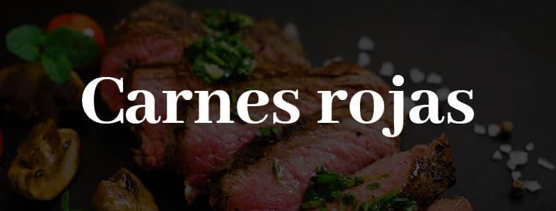 seleccion vinos para carnes rojas
